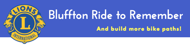 Bluffton Ride to Remember July 14 2018